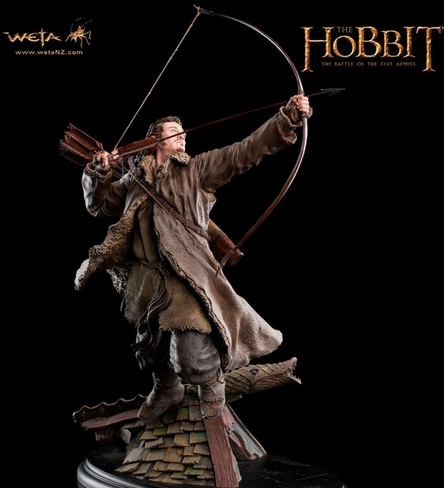 Figurine de Bard The Bowman tirée du film Le Hobbit