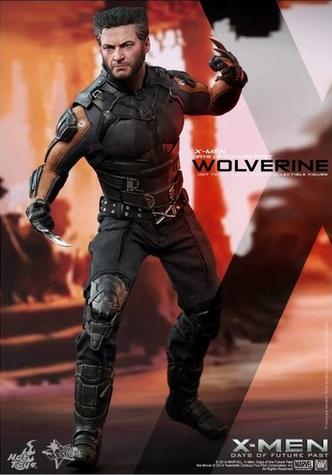 La figurine articulée de Wolverine.
