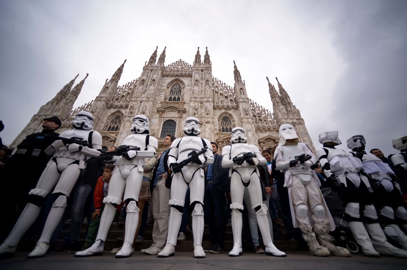 May The 4th Be With You à Milan.