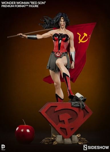 Wonder Woman Red Son