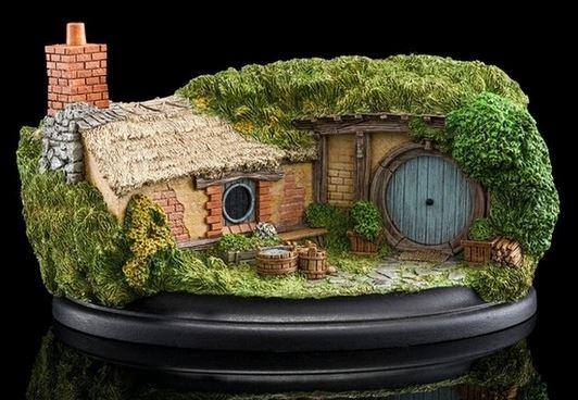 Diaroma Chemin des Trous-du-Talus - Le Hobbit - Weta - Blog figurines mania