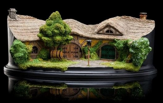 Diaroma l'auberge du Dragon vert  - Le Hobbit - Weta - blog figurines mania