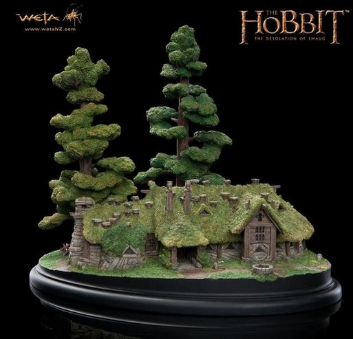 Diaroma House of Beorn - Le Hobbit - Weta - Blog Figurines Mania