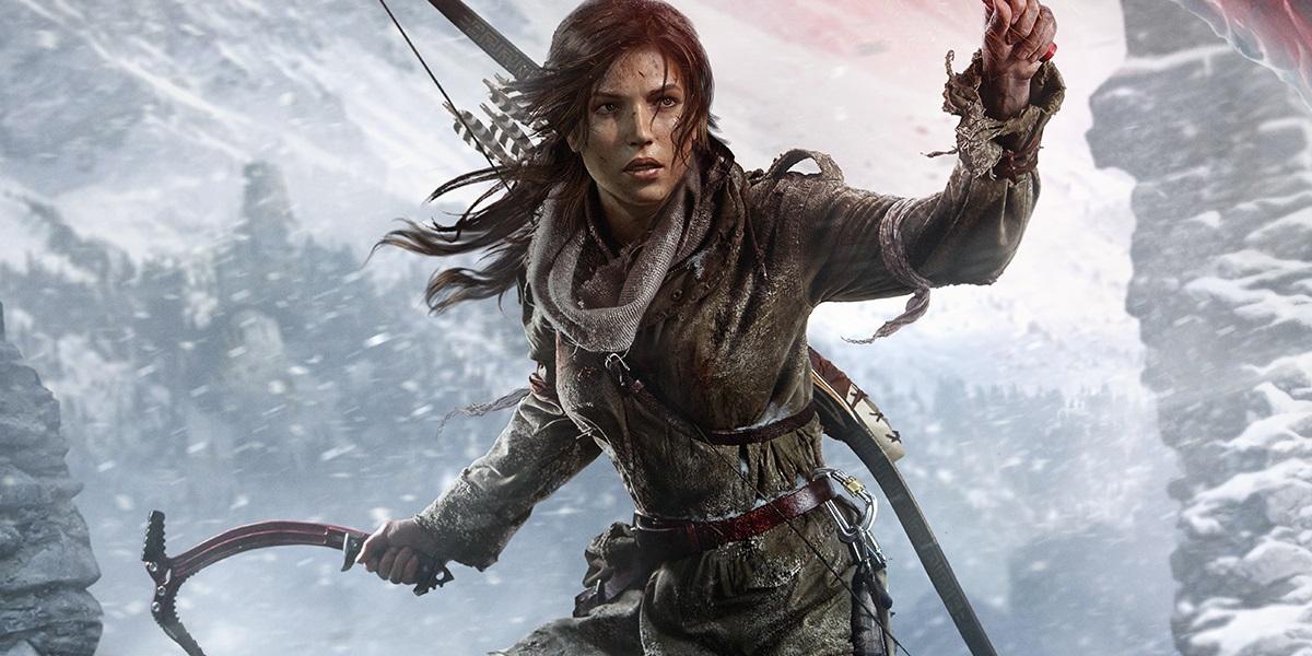 Lara Croft de Tomb Raider