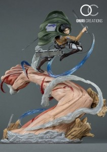 figurine attaque des titans
