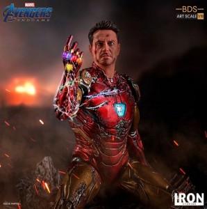 figurine iron man avengers endgame